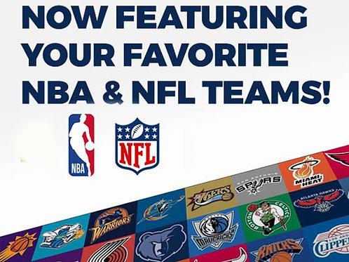 NBA & NFL Licensed Balls