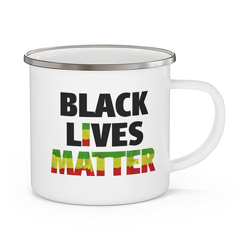 Black Lives Matter - I Matter Mug |  Coffee Campfire Mug 12 oz