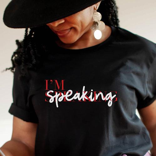 Kamala Harris | I'm Speaking Lace Women's Slim Unisex T Shirt