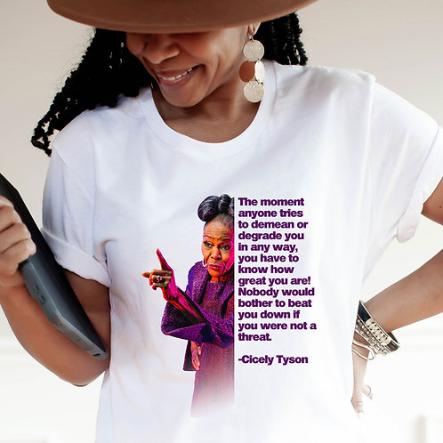 Cicely Tyson Shirt | Know How Great You Are | Women's  Short Sleeve T-Shirt