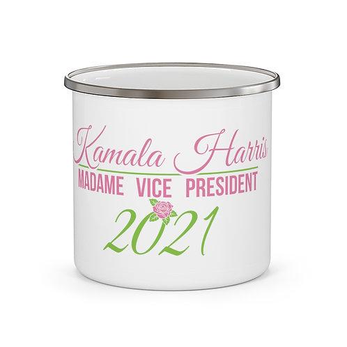 Vice President Kamala Harris Alpha Kappa Alpha Mug | Coffee BLM Mug 12 oz