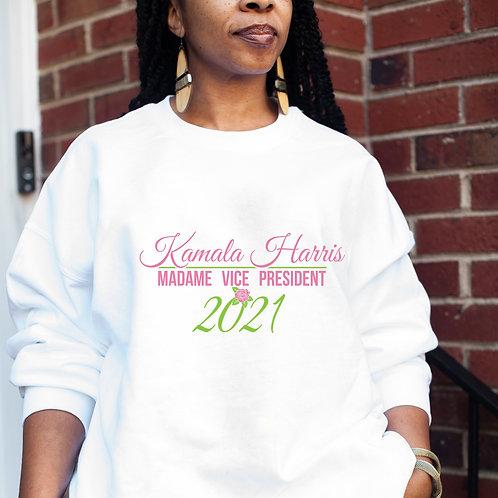 Kamala Harris Alpha Kappa Alpha Hoodie   Unisex Heavy Blend Hooded Sweatshirt