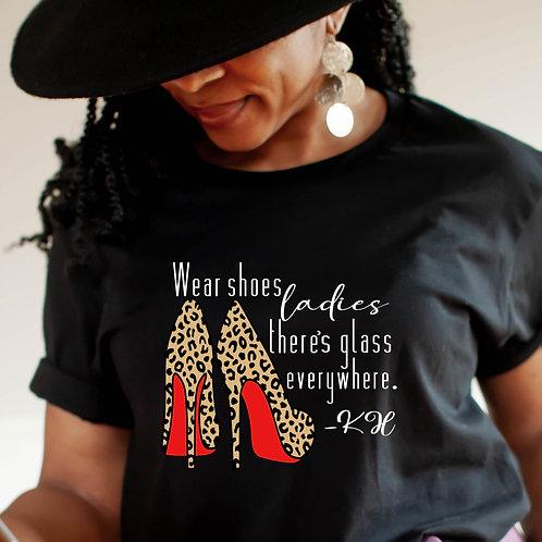 Kamala Harris | Wear Shoes Ladies | Women's Unisex T-Shirt