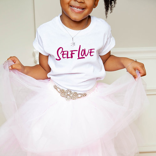 Self Love   Kids Cotton T-Shirt