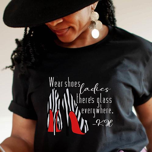 Kamala Harris VP | Wear Shoes Ladies Women's Unisex T-Shirt