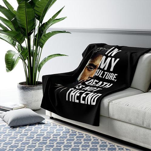 Chadwick Boseman Sherpa Fleece Blanket
