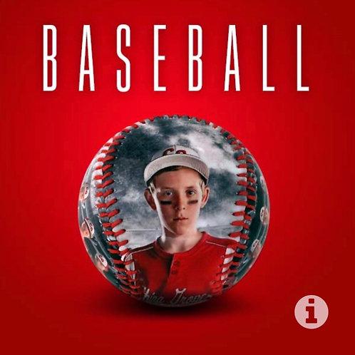 Baseball Photo Ball