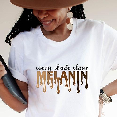 It's The Melanin For Me | African American Women's Unisex T-Shirt