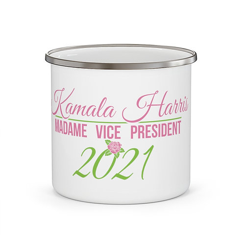 Vice President Kamala Harris Alpha Kappa Alpha   Coffee Mug 12oz