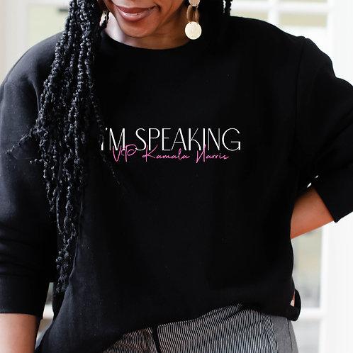 "Kamala Harris ""I'm Speaking"" | Unisex Heavy Blend Crewneck Sweatshirt"