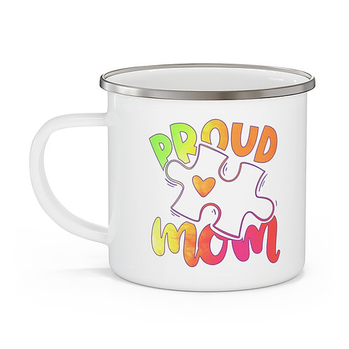 Autism Mom Proud Mom | My First Mother's Day Mug | Mothers Day Coffee Cup 12oz