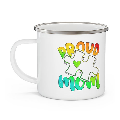 Autism Mom Proud Mom | My First Mothers Day Mug | Mothers Day Coffee Cup 12oz