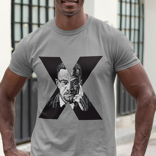 Malcolm X Shirt   Black Lives Matter Unisex Fit T-Shirt
