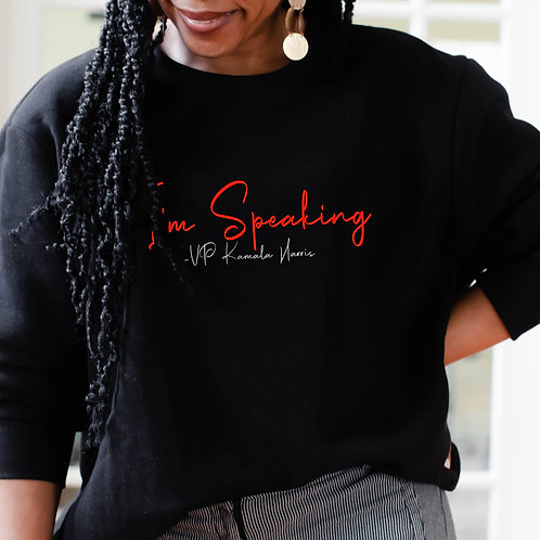 "Delta's For Kamala Harris ""I'm Speaking"" |  Delta Sigma Theta Women's Sweatshirt"