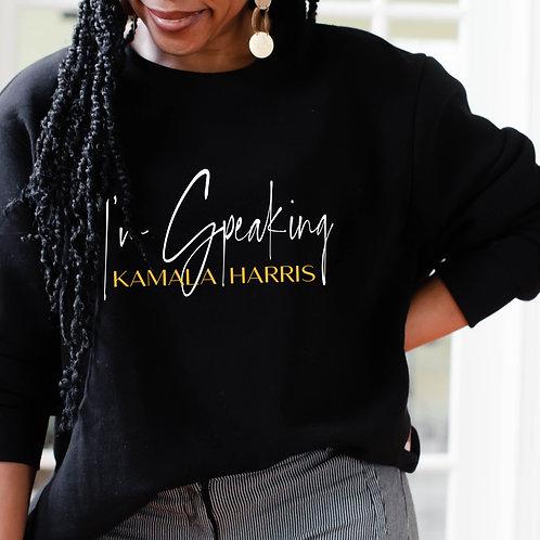 Kamala Harris | I'm Speaking Women's Unisex Heavy Blend Crewneck Sweatshirt