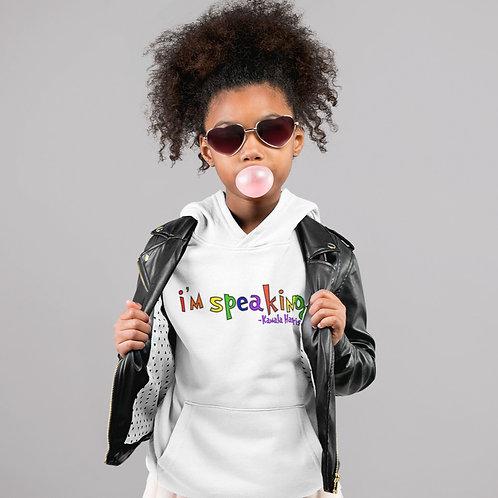 "Kamala Harris ""I'm Speaking"" | Girls Youth Hooded Sweatshirt"