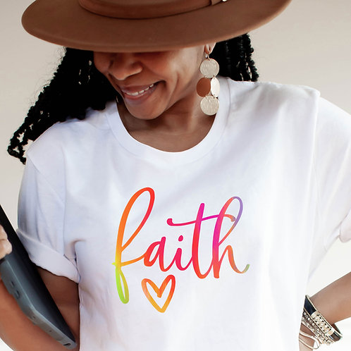 Faith | Hope | Love | Women's Unisex T-Shirt | Tap to see more...