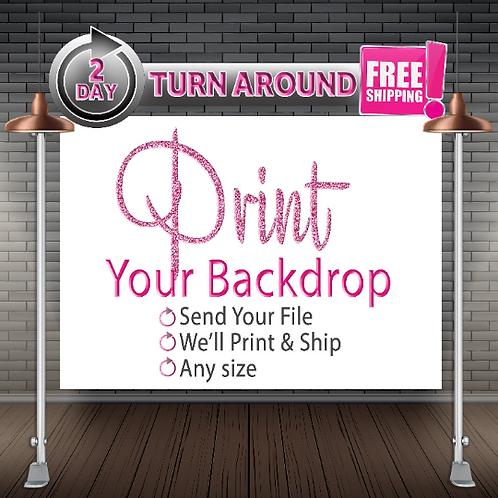 Backdrop Printing   Large format Printing   Banner Printing   Print Services