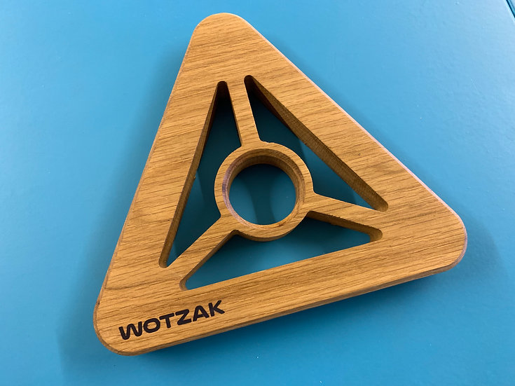 Trivet Triangular - Oak