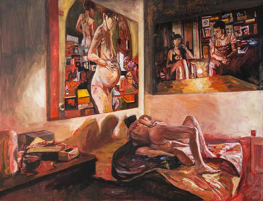 Trois peintures