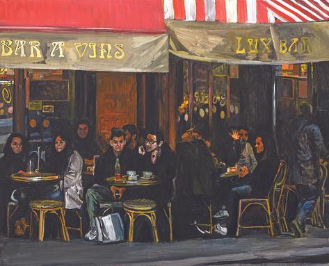 Le Lux bar, Paris XVIII