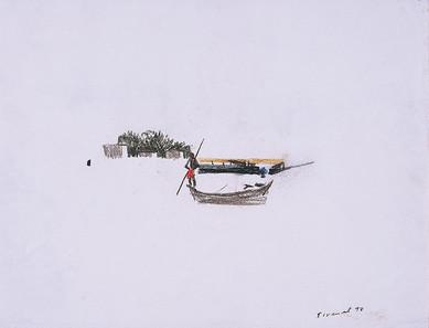 Pêcheur sur le Niger