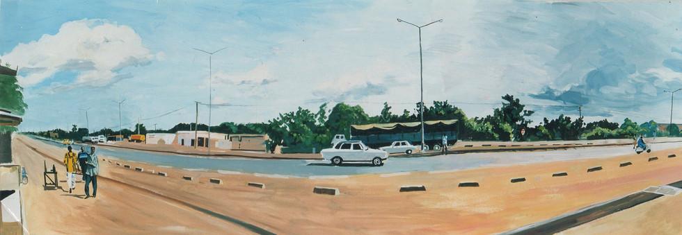 La grand route, Bamako