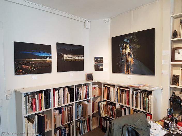 """Exposition """"Nuit Paris"""" - Jane Roberts Fine Arts, Paris - 2017"""