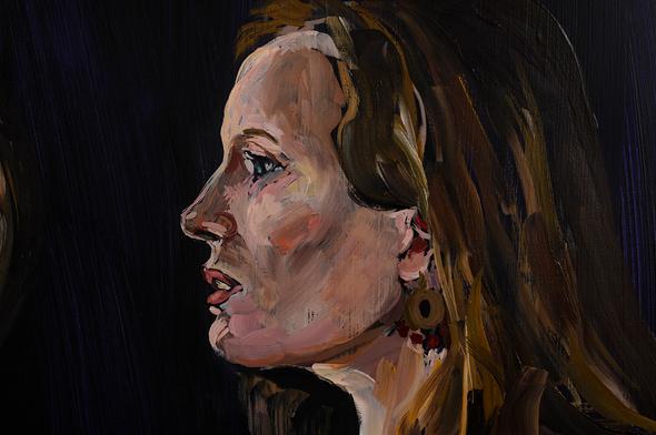 Annonciation 2011, détail Anne-Laure
