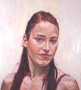Tess, 2011-12, Huile sur toile, 160 x 144 cm