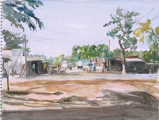 La route, Bamako, Collection particulière