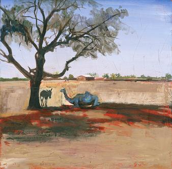 Mali, l'âne et le dromadaire