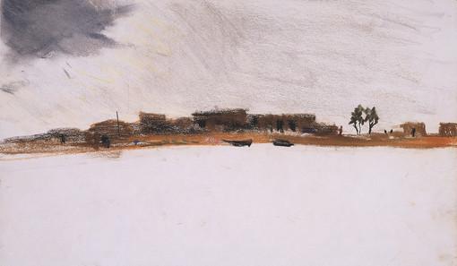 Orage sur le Niger,  collection particulière