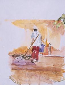 Balayeur,  collection particulière