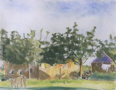 Le village, Koro,