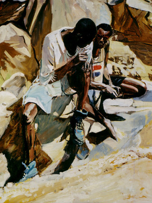 Peintures du Mali