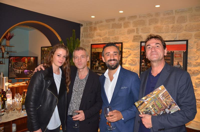 Cafés et autres nuits, Paris - 2019 - Vernissage