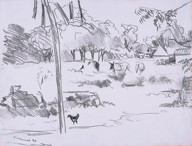 Dans le village, Koro