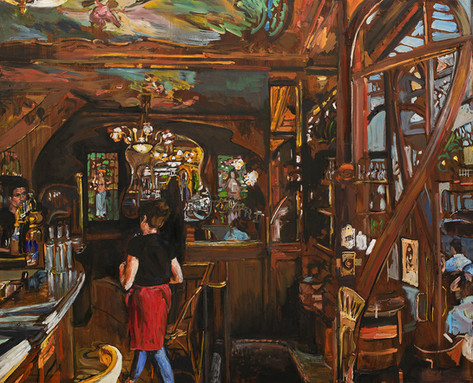 Le bistrot du peintre II, Paris XI