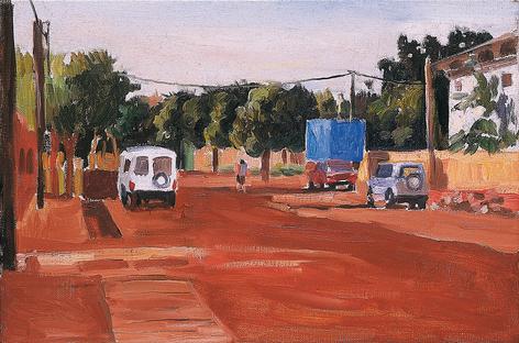 Bamako, route quartier Niarella