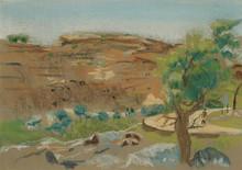 Route et arbre pays Dogon