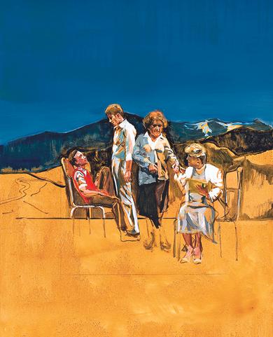 Perthus, affiche pour la pièce de Jean-Maris Besset