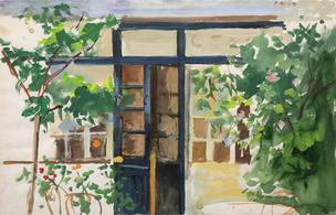 Le jardin et l'atelier