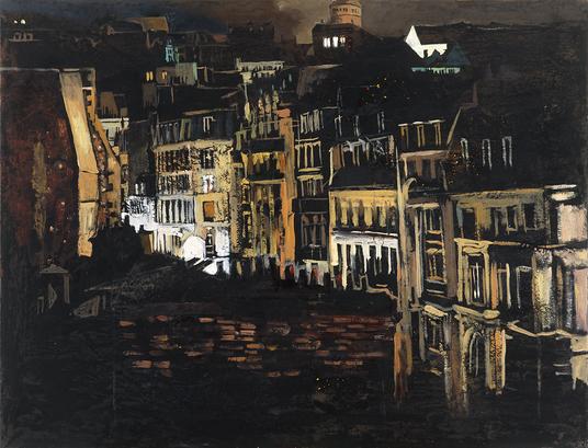 Rue montante, Paris XVIII