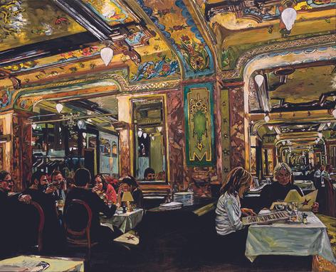 Brasserie Mollard I, Paris VIII