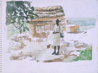 Bouba, le guide Dogon, Collection particulière