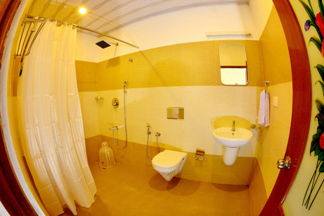 Toilet of Deluxe room