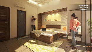 3 BED HOUSE ROOM