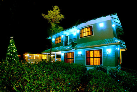 Green Villa -Night View 2