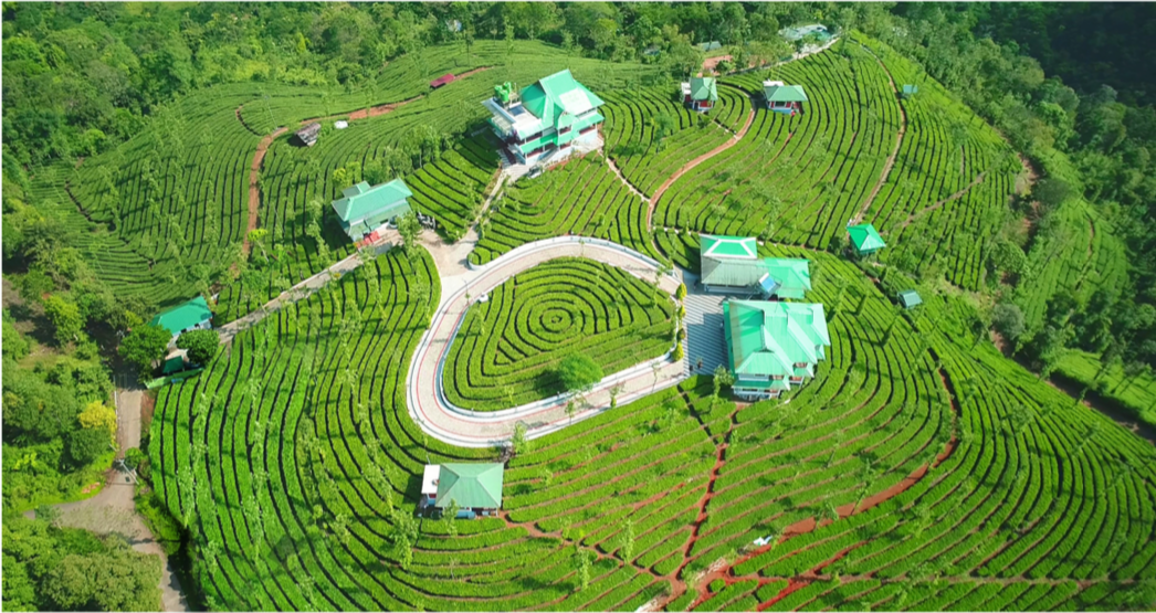 GreenHill Resorts Top View